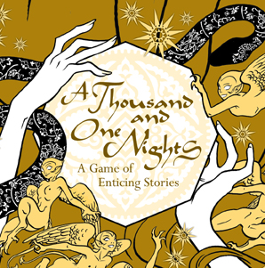 The cover of 1001 Nights by Night Sky Games