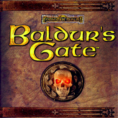 Cover art for the Baldur's Gate soundtrack